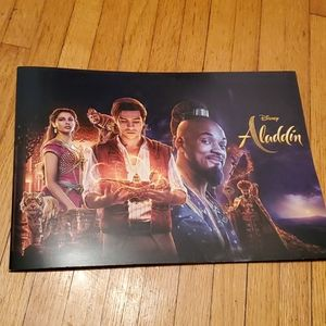New Collector Set Disney Aladdin Lithograph Prints